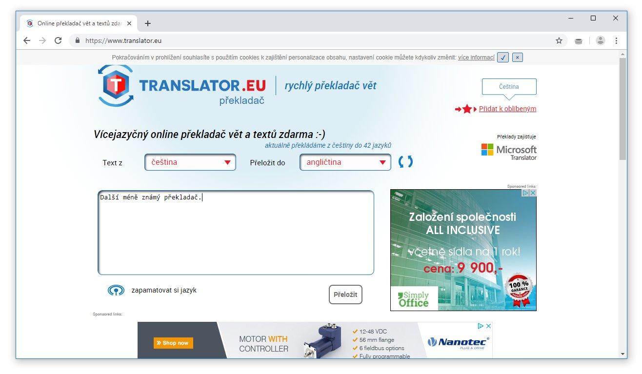Příklady online frází