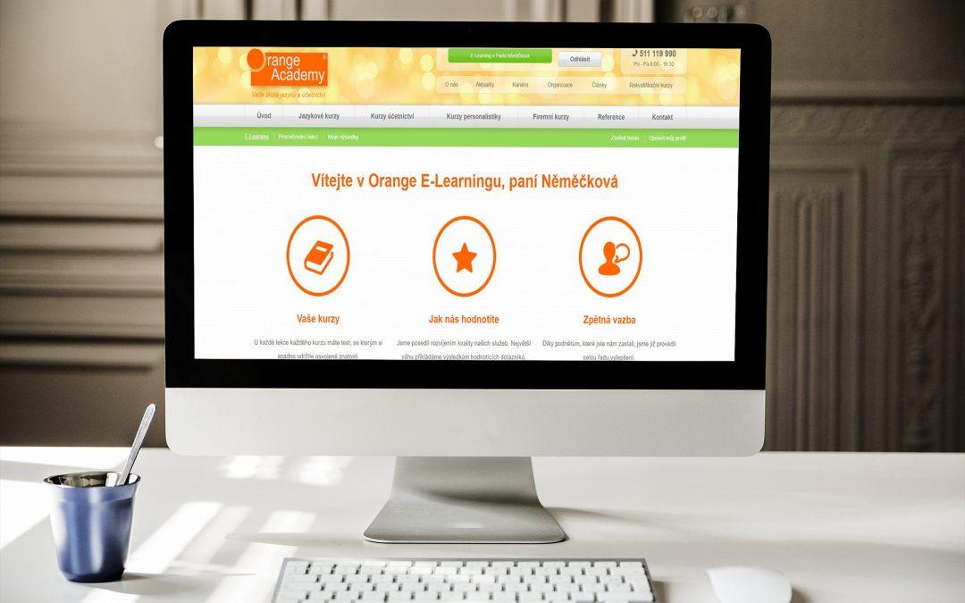 Představení e-learningu Orange Academy