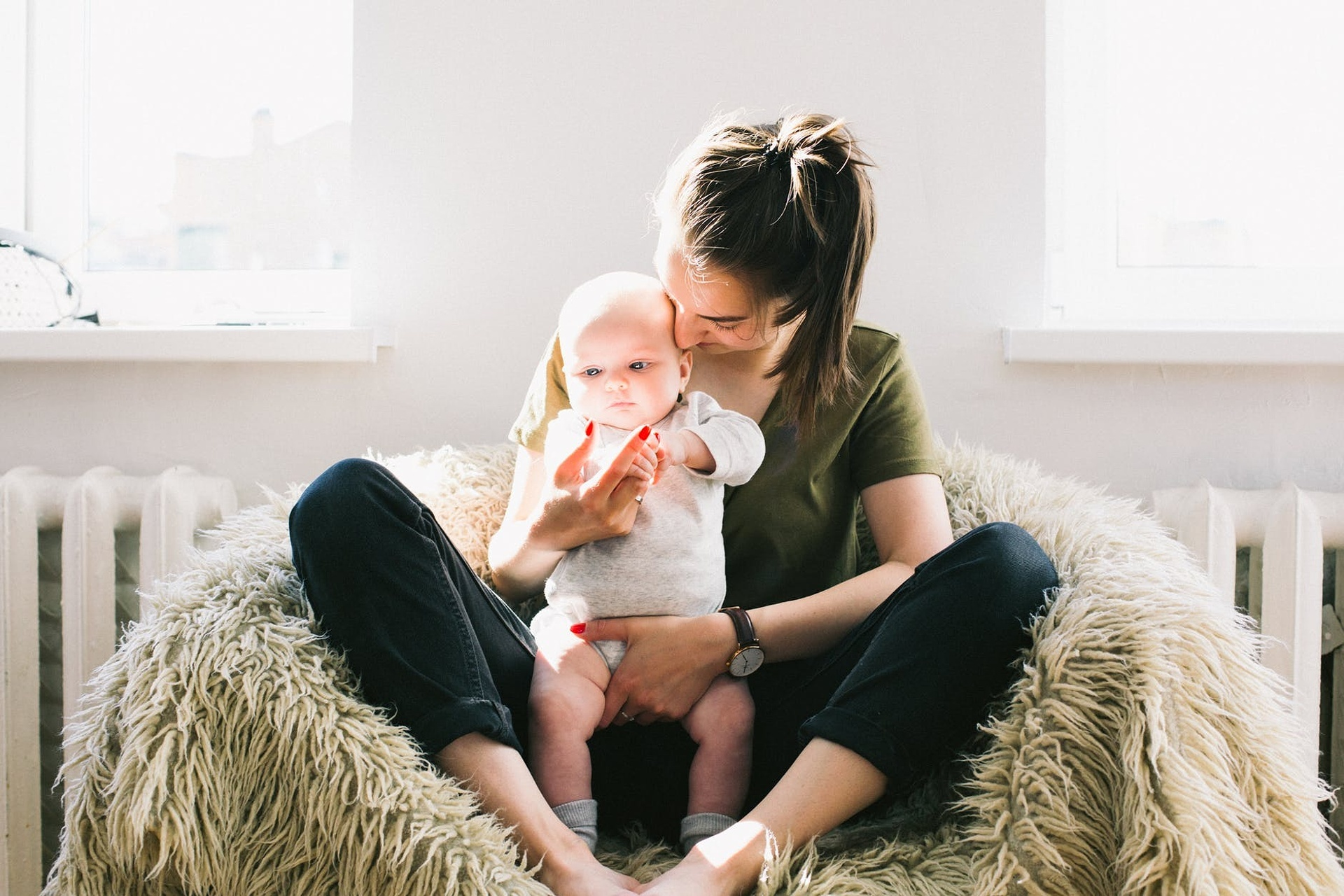 Práce a vzdělávání na mateřské