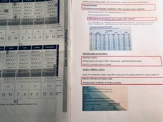 rekvalifikační kurz mzdové účetnictví tahák