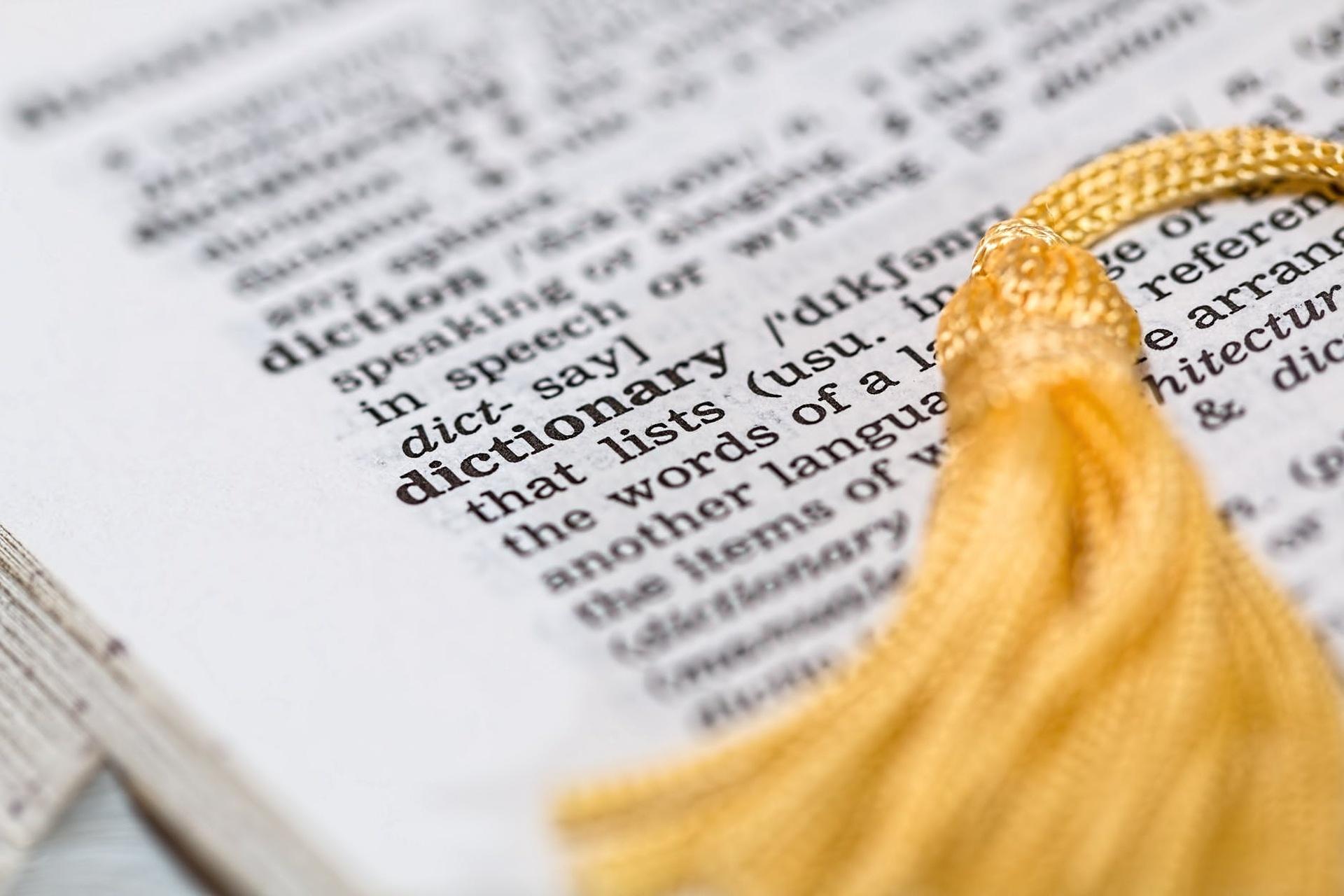 slovník angličtina