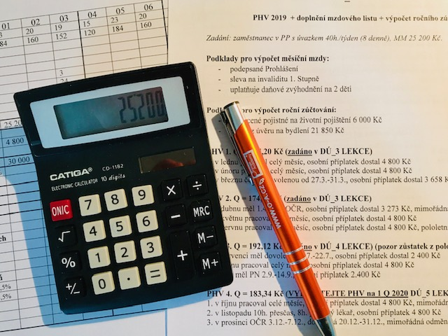 kurz mzdové účetnictví zkouška