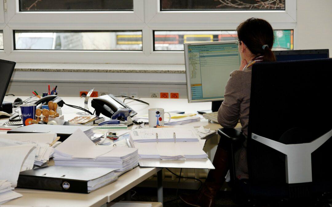 archivace dokumentů sekretářka