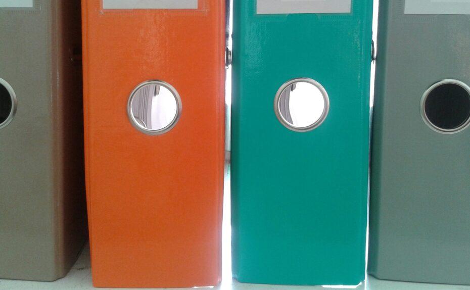 archivace dokumentů v šanonech