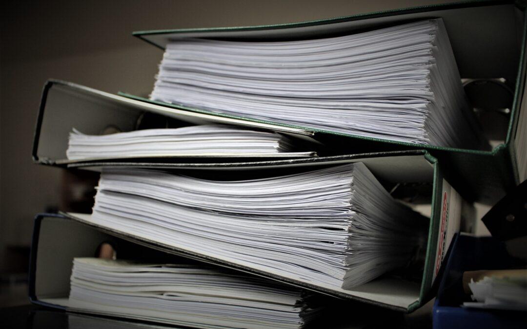 Účetní doklady: Vše, co o nich potřebujete vědět!