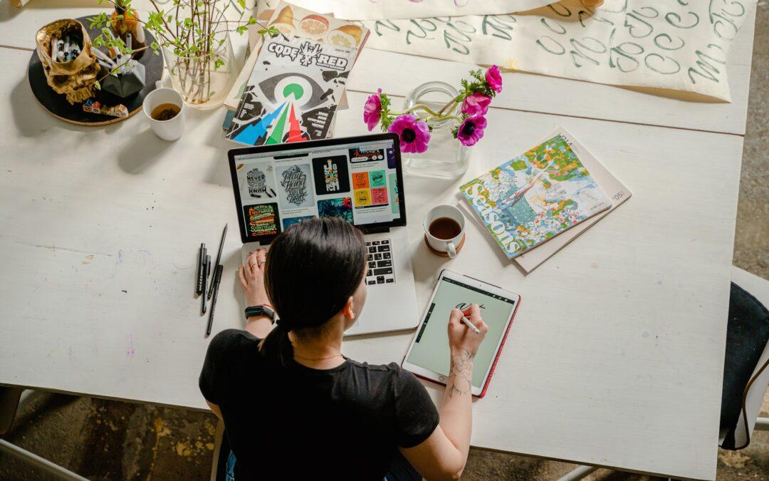 Jak se stát grafikem: 5 rad pro začátečníky!