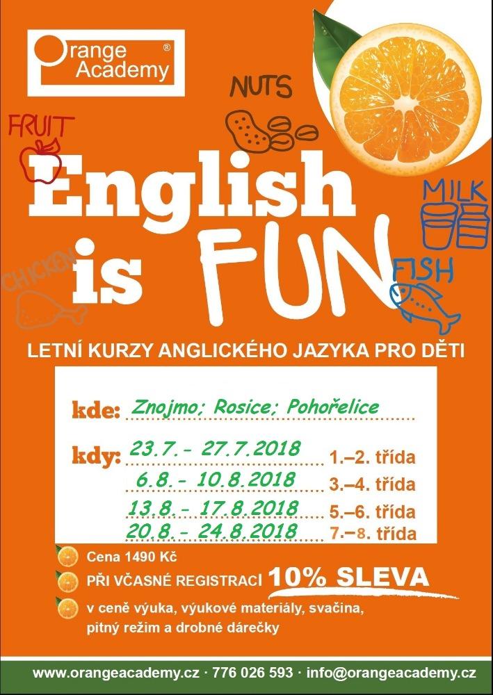 Letní kurzy angličtiny pro děti